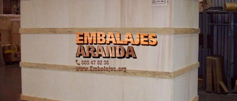 Embalaje madera San Cristóbal de La Laguna
