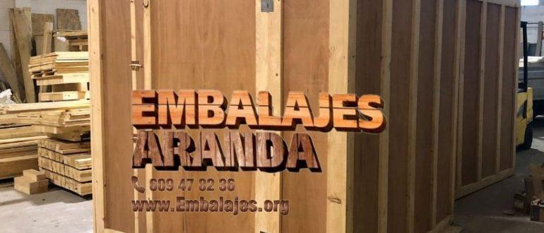 Embalaje madera San Fernando Cádiz
