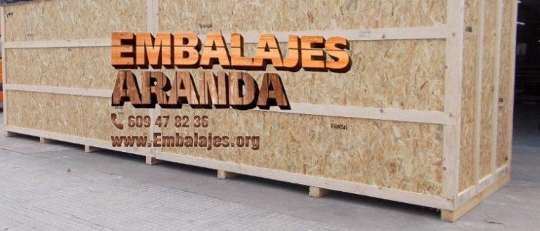 Embalaje madera San Sebastián