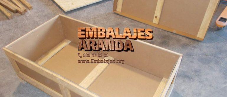 Embalaje madera Sanlúcar de Barrameda