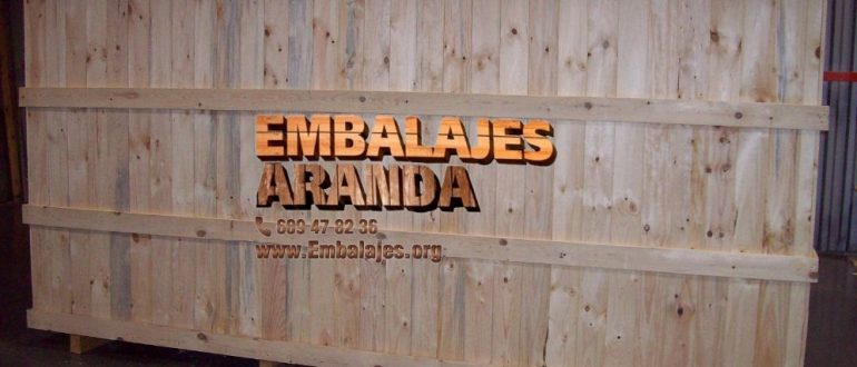 Embalaje madera Santa Coloma de Gramenet