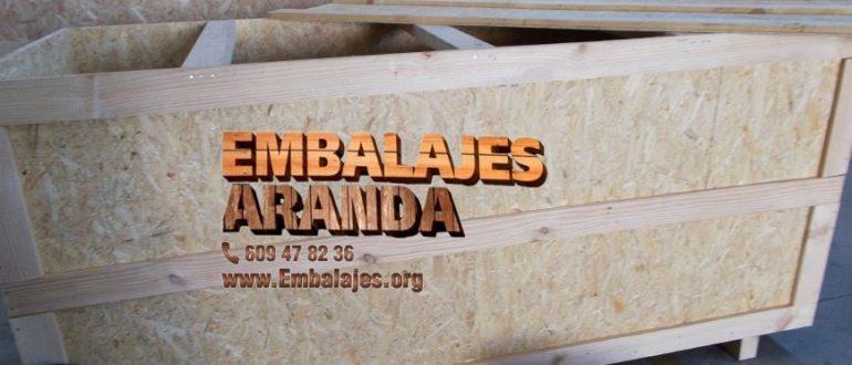 Embalaje madera Santander