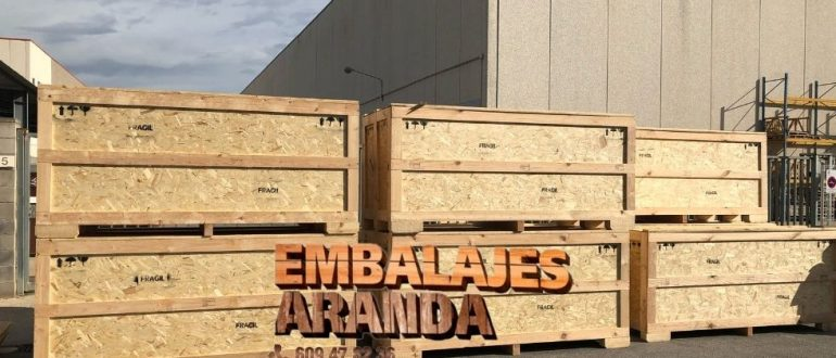 Embalaje madera Sevilla Andalucía