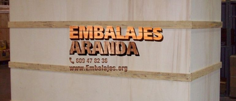 Embalaje madera Tarragona Catalunya