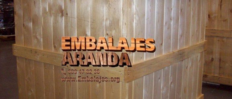 Embalaje madera Telde Las Palmas