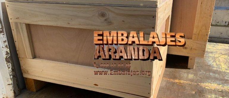 Embalaje madera Toledo Castilla-La Mancha
