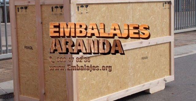 Embalaje madera Torremolinos Málaga