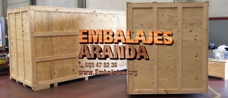 Embalaje madera Torrente València