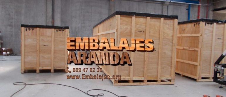 Embalaje madera Torrevieja Alicante