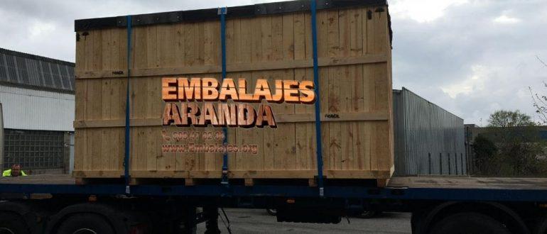 Embalaje madera Valdemoro Madrid
