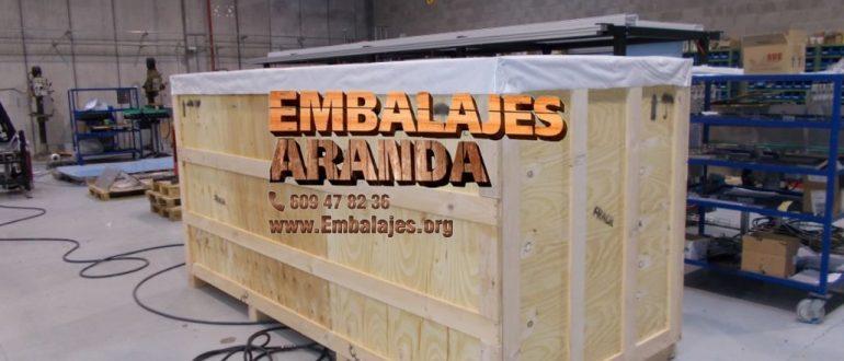 Embalaje madera Valladolid