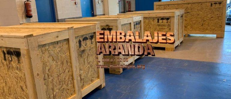 Embalaje madera Viladecans Barcelona