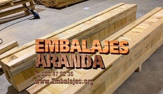 Embalaje madera Vilanova i la Geltrú