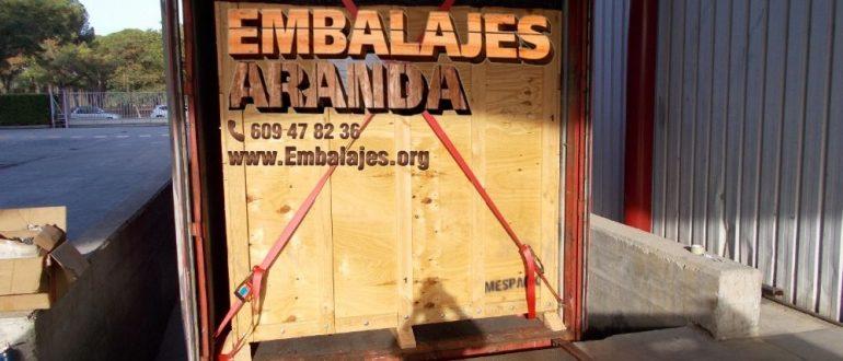 Embalaje madera Bigues i Riells Barcelona