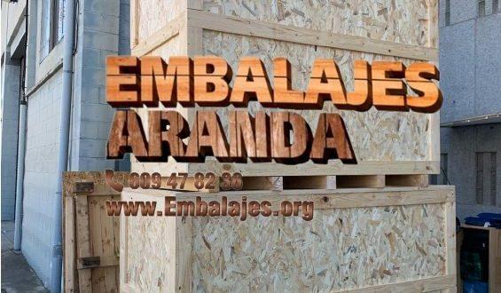 Embalaje madera Binissalem Illes Balears