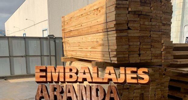 Embalaje madera Blanca Murcia