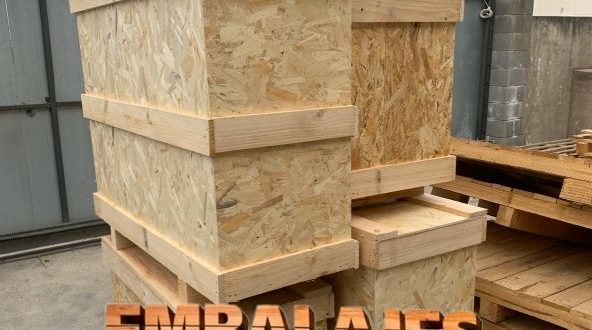 Embalaje madera Blanes Girona