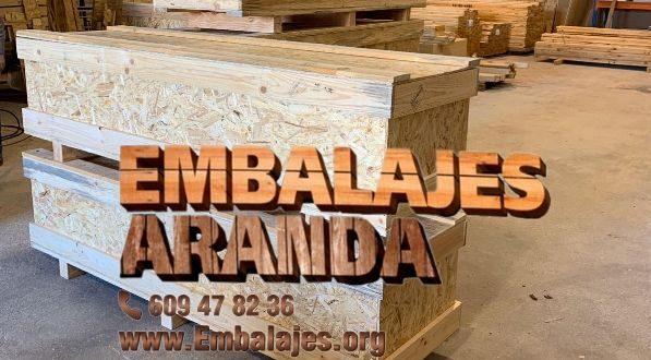 Embalaje madera Boadilla del Monte