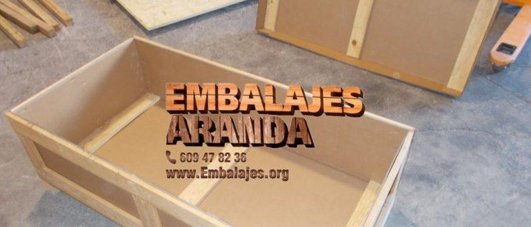 Embalaje madera Boiro A Coruña