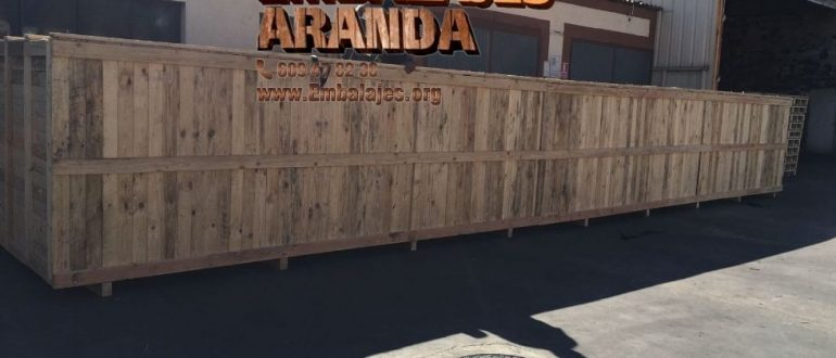 Embalaje madera Bollullos Par del Condado