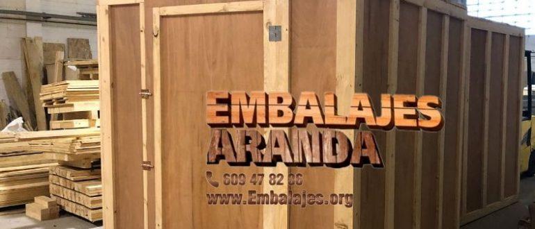Embalaje madera Bonares Huelva