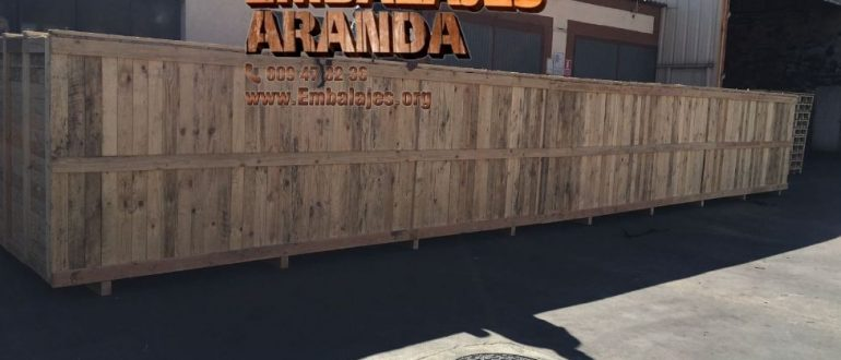 Embalaje madera Boqueixón A Coruña