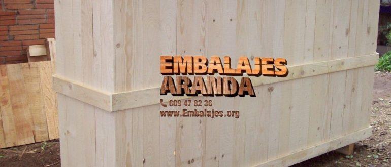 Embalaje madera Borriana Castelló