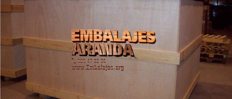 Embalaje madera Brión A Coruña