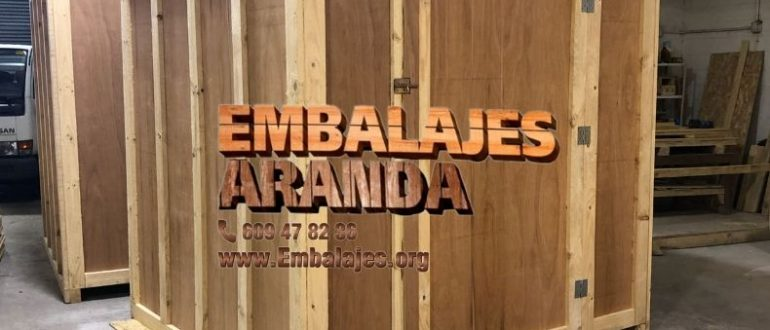 Embalaje madera Briviesca Burgos
