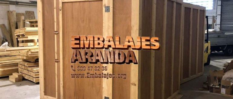 Embalaje madera Brunete Madrid