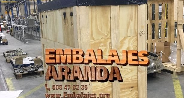 Embalaje madera Bujalance Córdoba