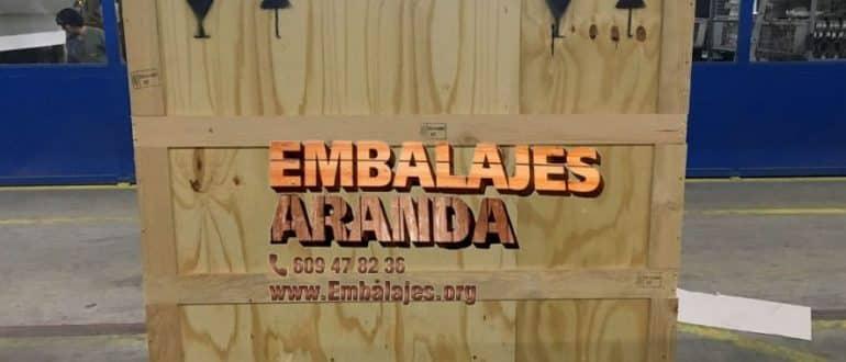 Embalaje madera Burguillos Sevilla