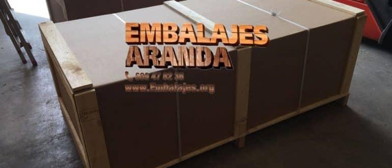 Embalaje madera Burjasot València