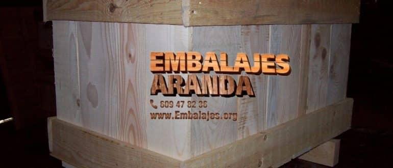 Embalaje madera Cabana de Bergantiños
