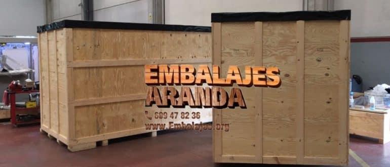 Embalaje madera Cabanillas del Campo