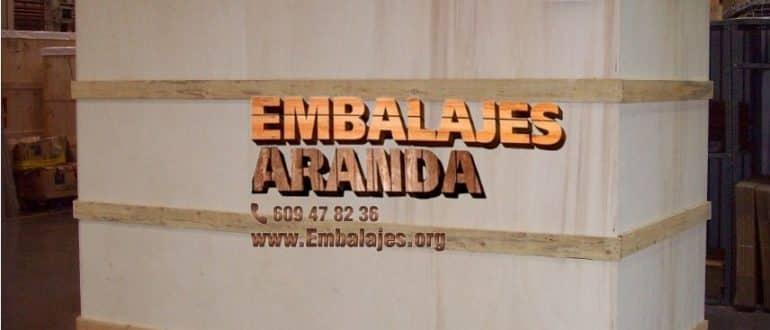 Embalaje madera Cabeza del Buey
