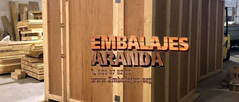 Embalaje madera Cabezón de Pisuerga