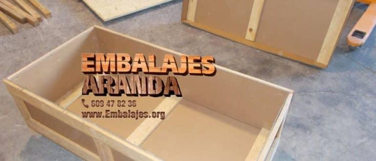 Embalaje madera Cabra Córdoba