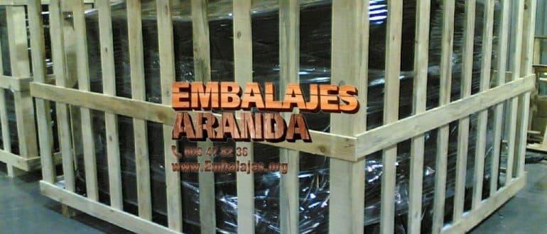Embalaje madera Cabrera de Mar Barcelona
