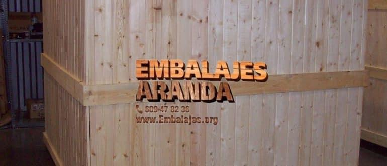 Embalaje madera Cabrerizos Salamanca