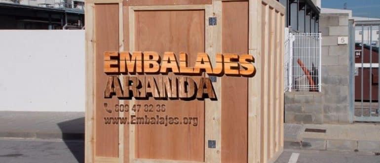 Embalaje madera Cabrils Barcelona