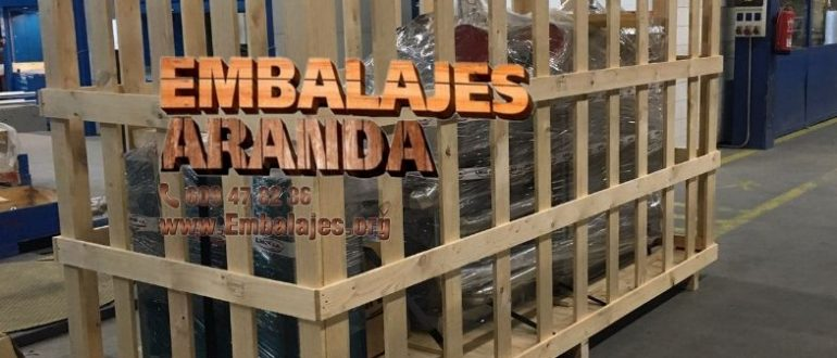 Embalaje madera Calamonte Badajoz