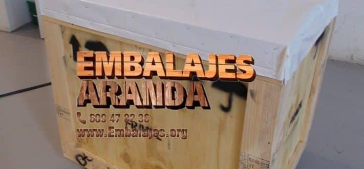 Embalaje madera Calasparra Murcia