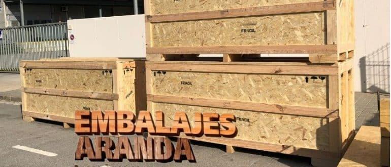 Embalaje madera Caldas de Reis Pontevedra