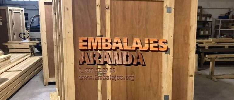Embalaje madera Caldes de Montbui Barcelona