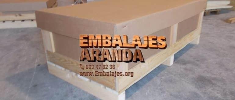 Embalaje madera Calella Barcelona