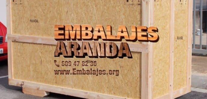 Embalaje madera Calzada de Calatrava