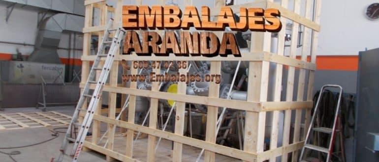 Embalaje madera Camarena Toledo