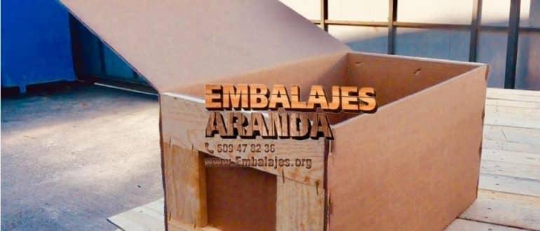 Embalaje madera Camariñas A Coruña