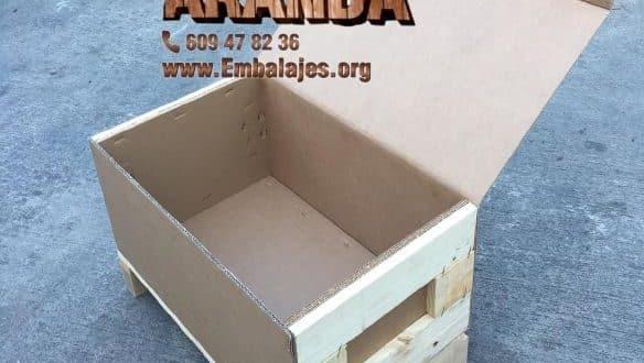 Embalaje madera Camarma de Esteruelas